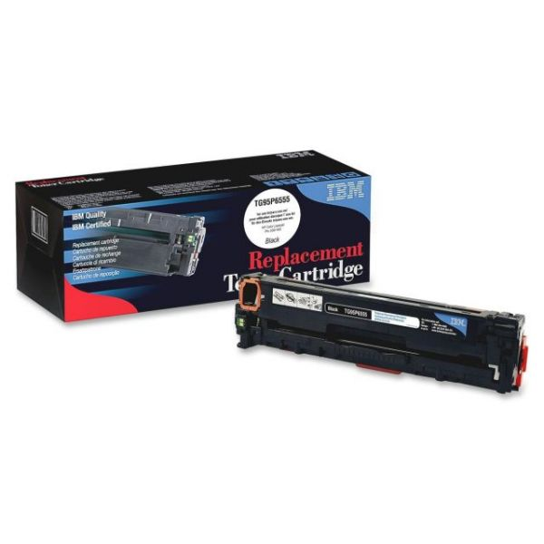 IBM Remanufactured HP 305A (CE410A) Toner Cartridge