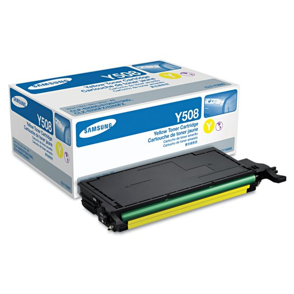 Samsung Y508 Yellow Toner Cartridge
