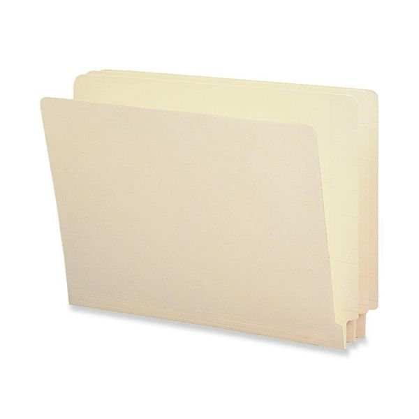 Smead 100% Recycled Legal Size End Tab File Folders with Reinforced Tabs
