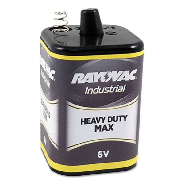 Rayovac Heavy-Duty Maximum Lantern Battery, 6V