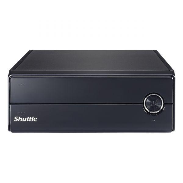 Shuttle XPC XH110V Barebone System Slim PC - Intel H110 Chipset - Socket H4 LGA-1151 - 1 x Processor Support - Black