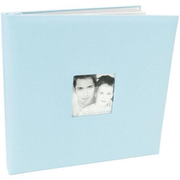 "Fashion Fabric Post Bound Album 12""X12"""