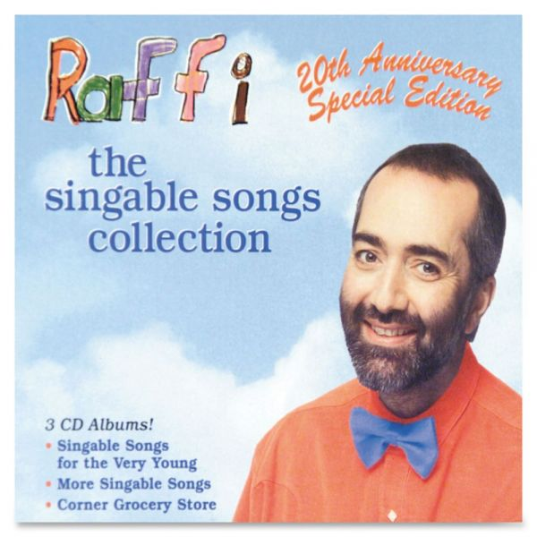 Flipside Raffi's Singable Songs 3-CD Set