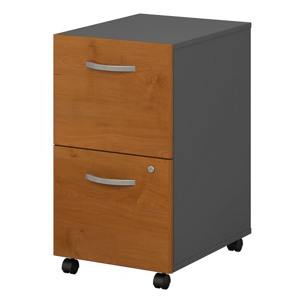bbf Series C Two-Drawer Pedestal by Bush Furniture