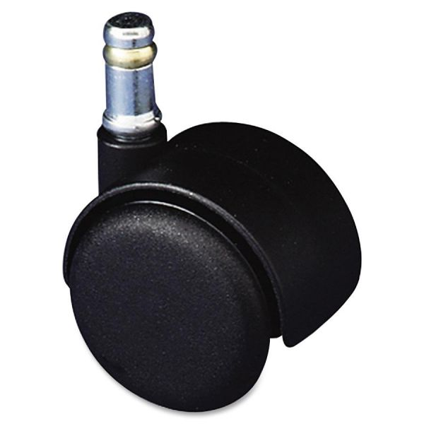 Master Mfg. Co Safety Series Carpet Casters, Standard Neck