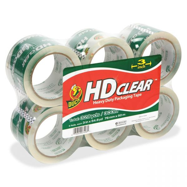 """Duck Brand Extra Wide 3"""" Packing Tape"""