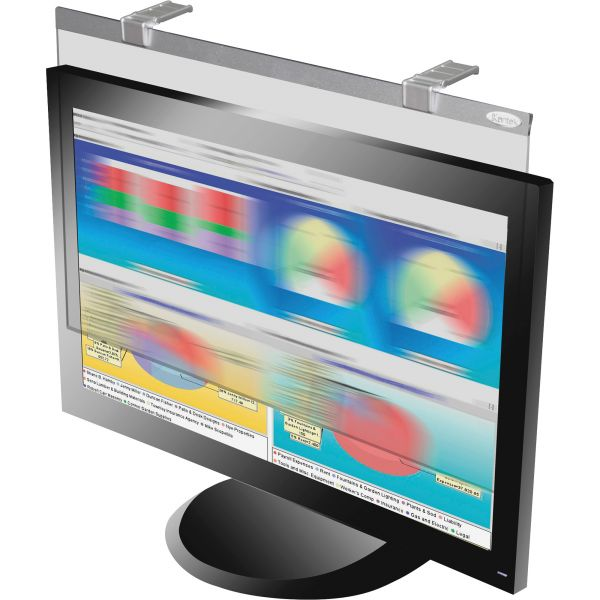 Kantek LCD Privacy/antiglare Wide Screen Filters Silver