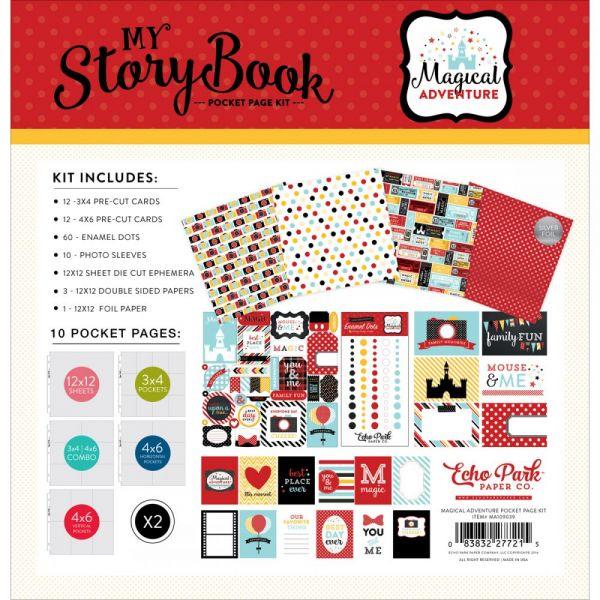 "My Storybook Pocket Page Kit 12""X12"""