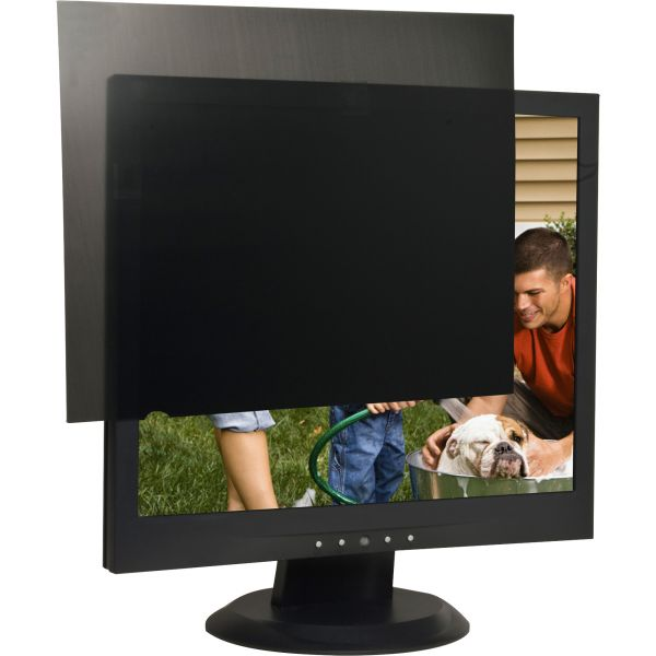 "Compucessory 19"" LCD Monitor Privacy Filter Black"