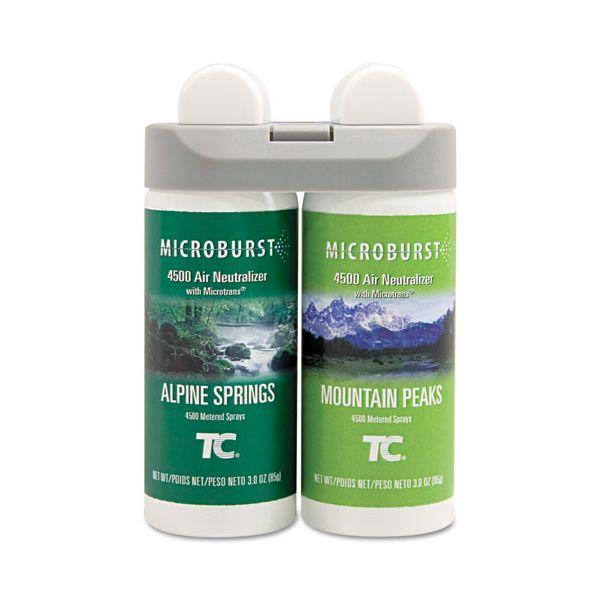 Rubbermaid Microburst Duet Air Freshener Refills