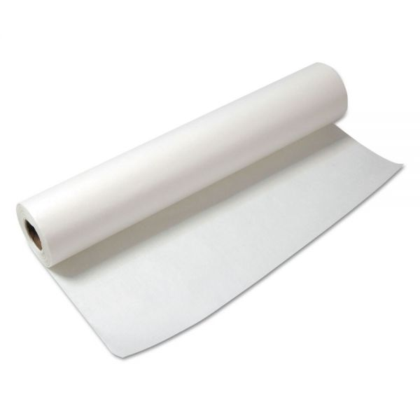 "General Supply High-Volume Wrapping Paper Roll, 30lb, 24"" x 100 ft, White"