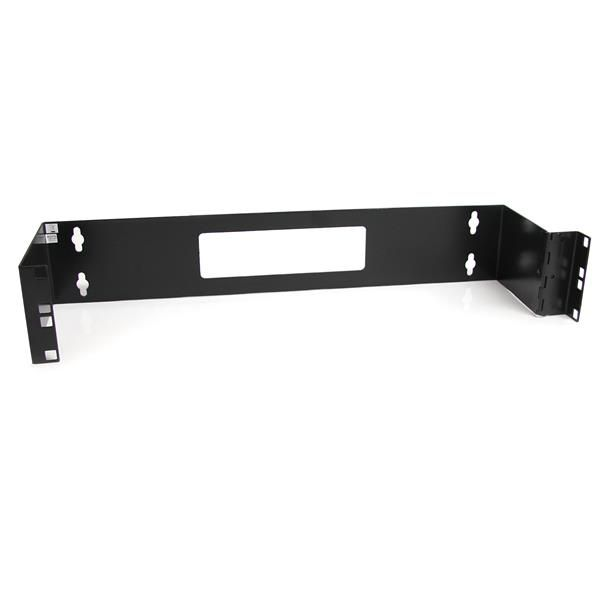 StarTech.com 2U 19in Hinged Wall Mount Bracket for Patch Panels