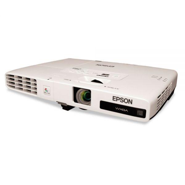 Epson PowerLite 1776W Multimedia Projector, 3000 Lumens, 1280 x 800 Pixels, 1.2x Zoom