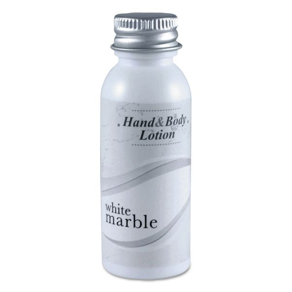 White Marble Hand & Body Lotion, 3/4oz, Bottle