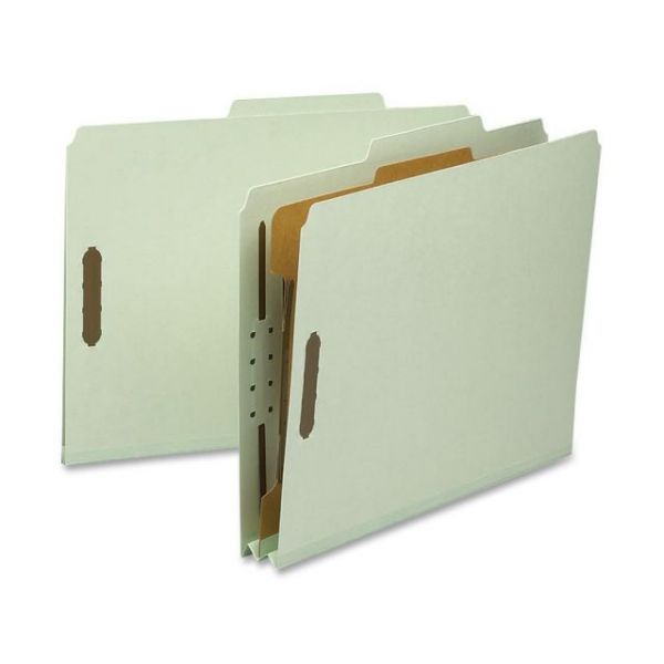 Nature Saver 1-Divider Pressboard Classification File Folders