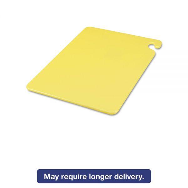 San Jamar Cut-N-Carry Plastic Cutting Board