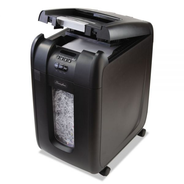 Swingline Stack-and-Shred 300 XL Super Cross-Cut Shredder Bundle