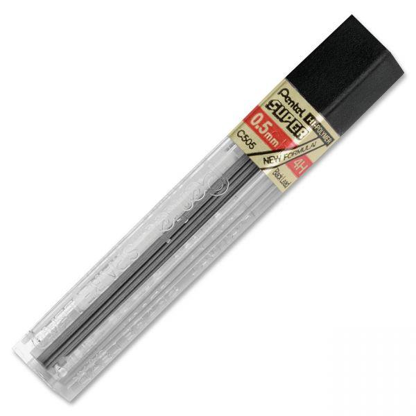 Pentel C505 Super Hi-Polymer Lead Refills