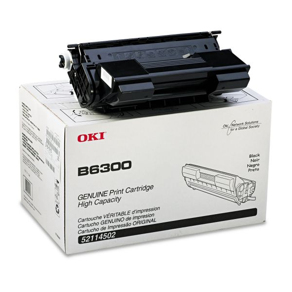 Oki 52114502 High-Yield Toner, 17000 Page-Yield, Black