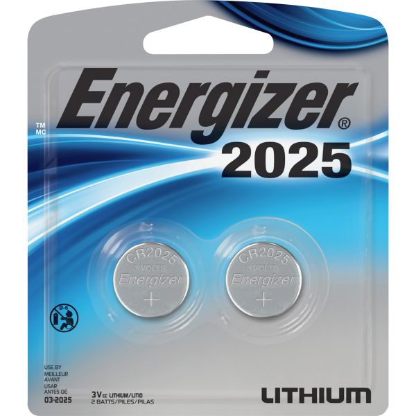 Energizer 2025 Watch/Electronic Battery