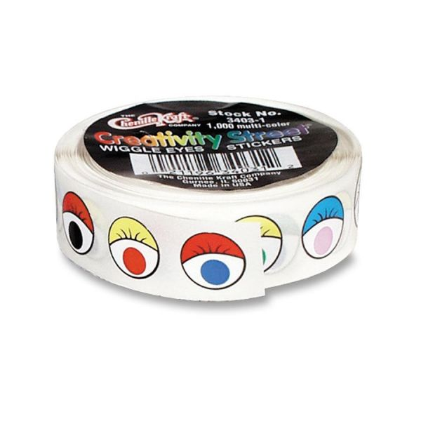 Creativity Street Wiggle Eyes Stickers
