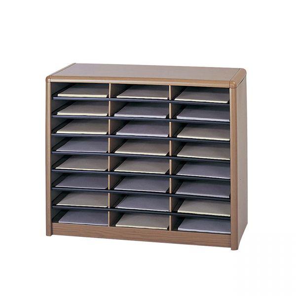 Safco Compartment Literature Organizer