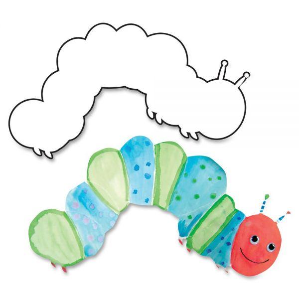 Hygloss Big Cuts Caterpillar Shapes