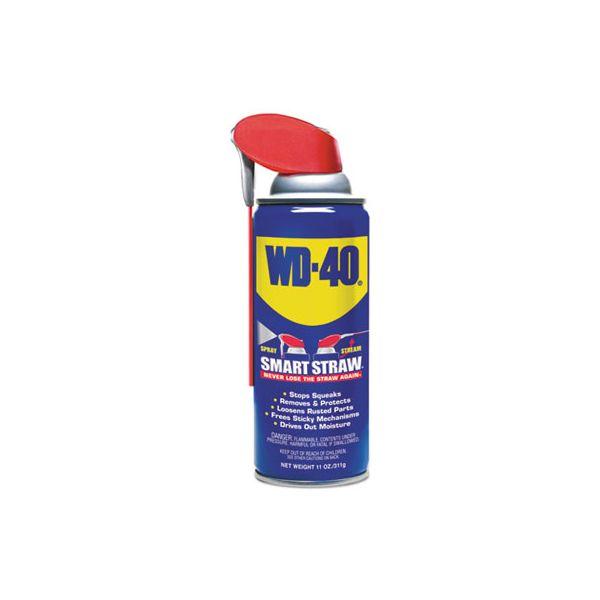 WD-40 Smart Straw Spray Lubricant, 11 oz Aerosol Can