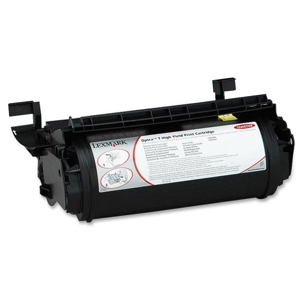 Lexmark 12A5745 Black High Yield Toner Cartridge