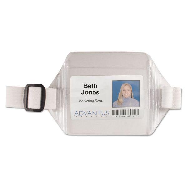 Advantus Horizontal Arm Badge Holders