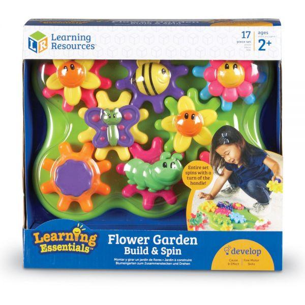 Learning Resources Jr Gears Flower Garden Building Set