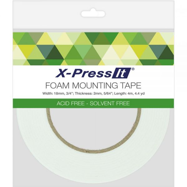 X-Press It Double-Sided Foam Tape 18mm