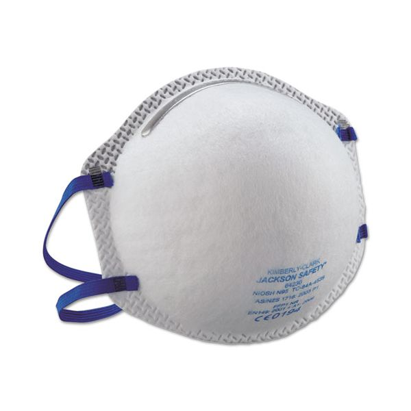 Jackson Safety* R10 Particulate Respirator, N95, White