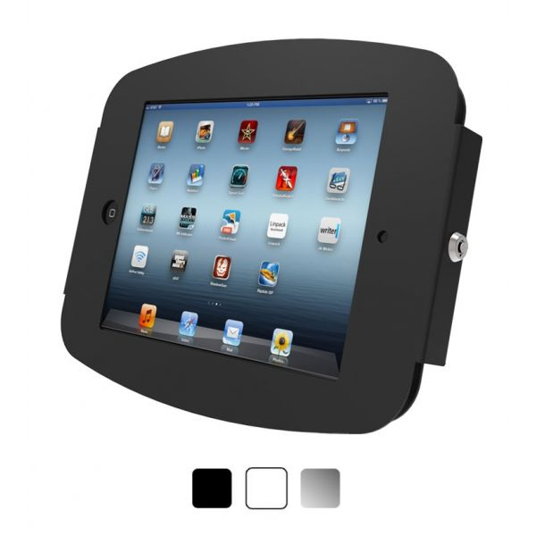 iPad Pro (12.9') Secure Space Enclosure Wall Mount Black