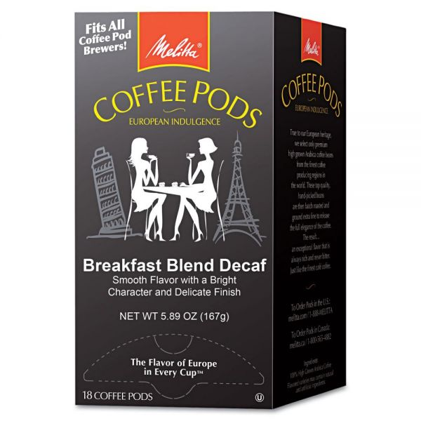 Melitta Single Cup Coffee Pods - Decaf