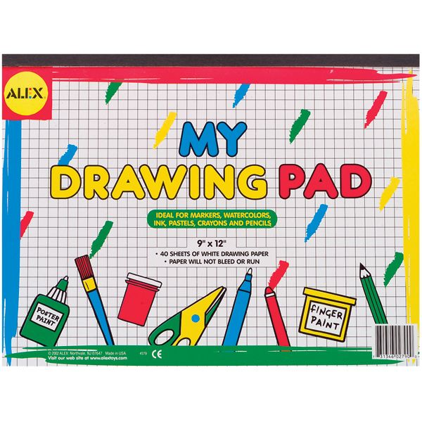 ALEX Toys My Drawing Pad
