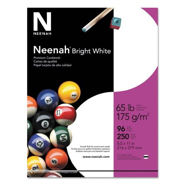 Neenah Paper Bright White Cardstock