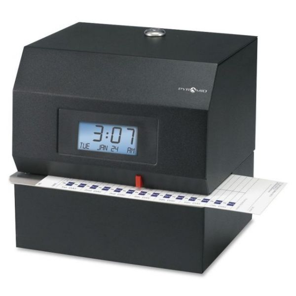Pyramid Heavy-Duty Time and Document Recorder