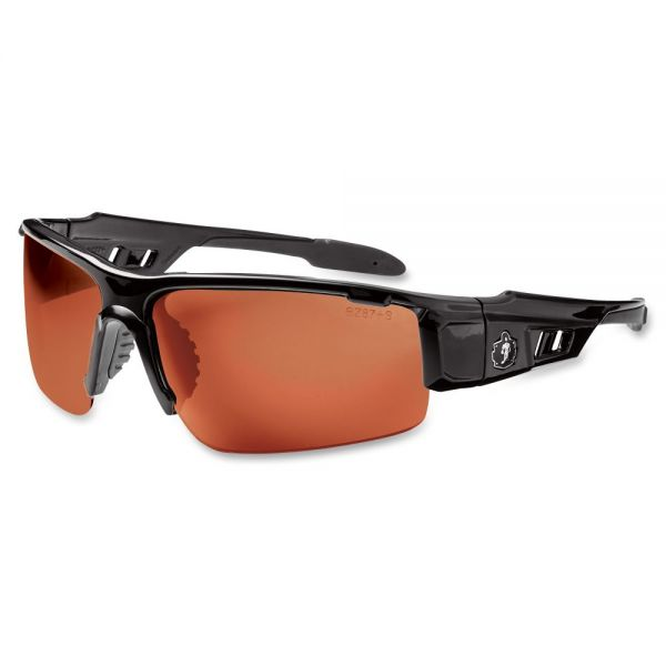 Ergodyne Dagr Copper Lens Half Frm Safety Glasses