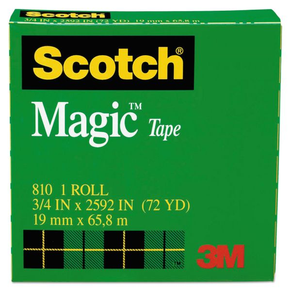 """Scotch 3/4"""" Magic Transparent Tape"""