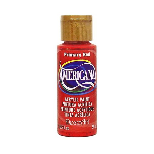 Deco Art Americana Primary Red Acrylic Paint