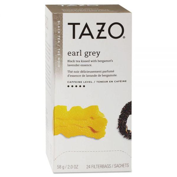 Tazo Tea Bags, Earl Grey, 2 oz, 24/Box