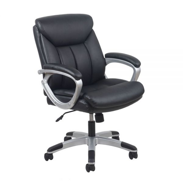 Essentials by OFM Leather Executive Office Chair with Arms