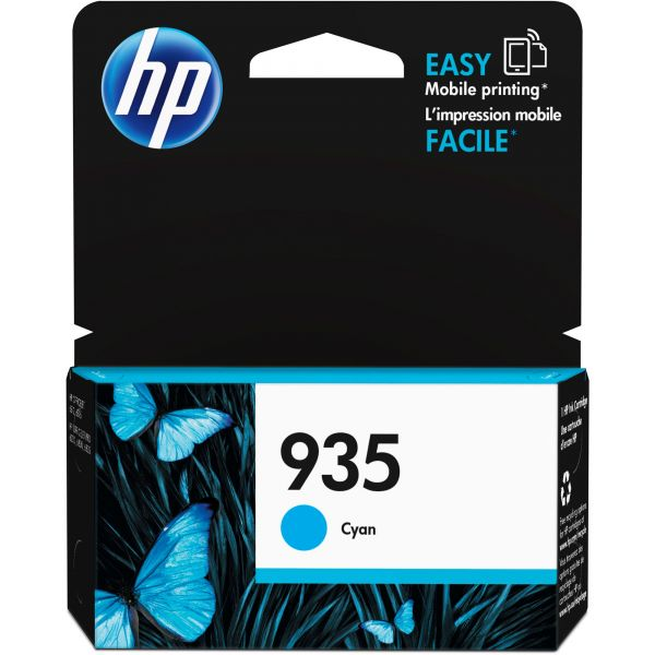 HP 935 Cyan Ink Cartridge (C2P20AN)