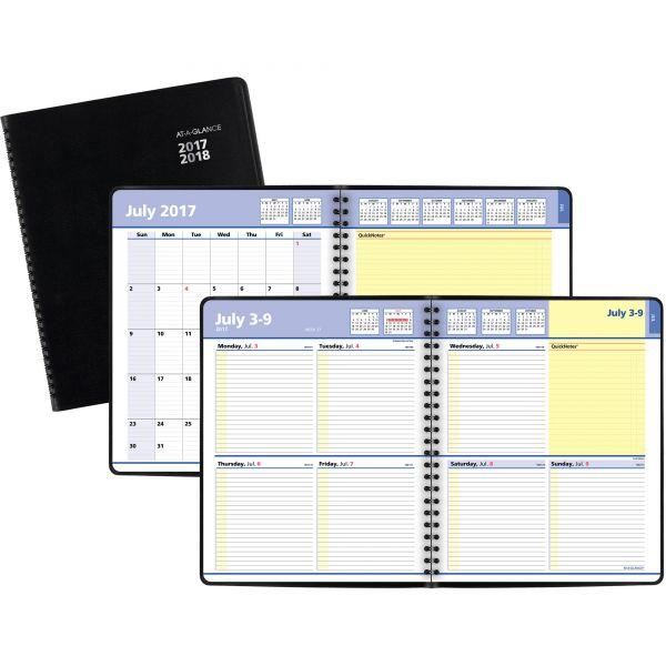 At-A-Glance QuickNotes Academic Weekly/Monthly Student Planner