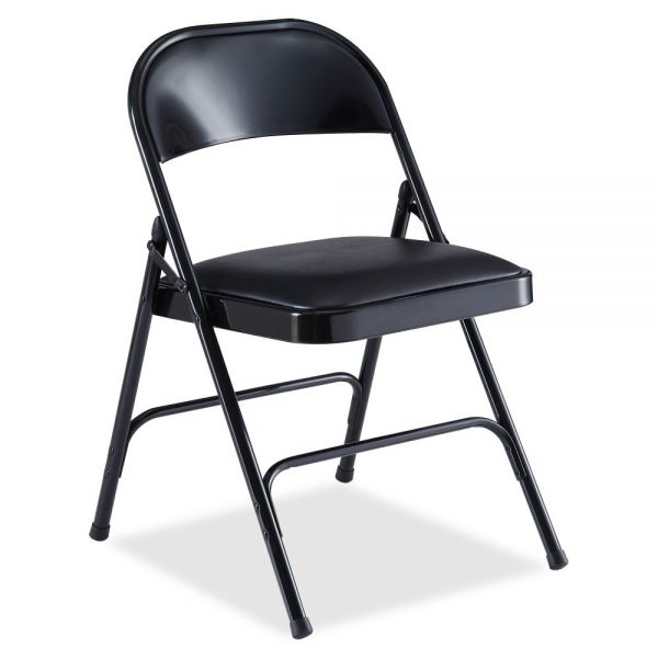 Lorell Padded Seat Folding Chair