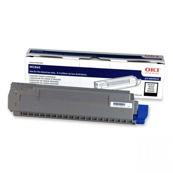Oki 44059216 Black Toner Cartridge