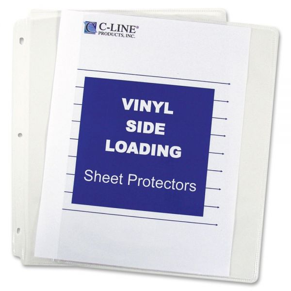 C-Line Side Loading Sheet Protectors