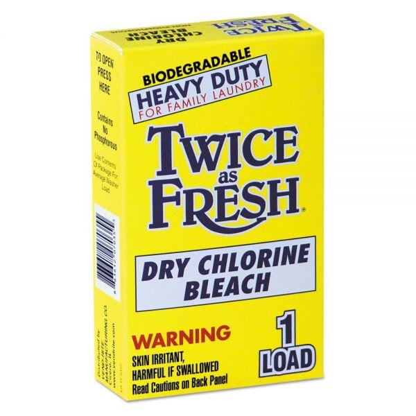 Twice As Fresh Dry Chlorine Bleach for Coin Vending Machines
