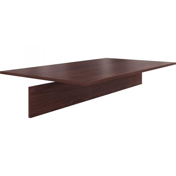 HON Preside Adder Table Top, 72 x 48, Mahogany